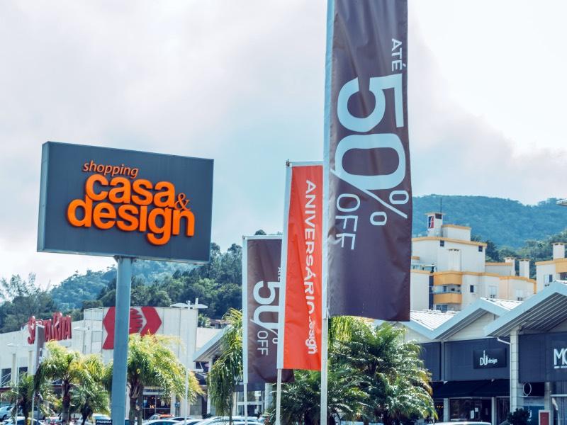 Shopping Casa & Design completa 19 anos com mix ampliado e campanha de descontos