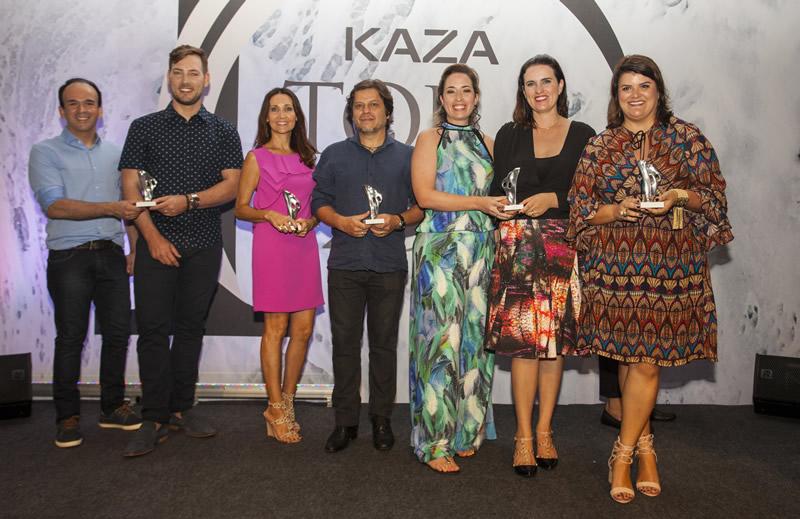 Vencedores do Prêmio Top 100 Kaza na Grande Florianópolis são premiados na Bahia