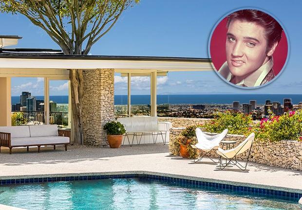 Em casa: a casa de Elvis Presley tem diária de mais de R$ 9 mil por aluguel de temporada