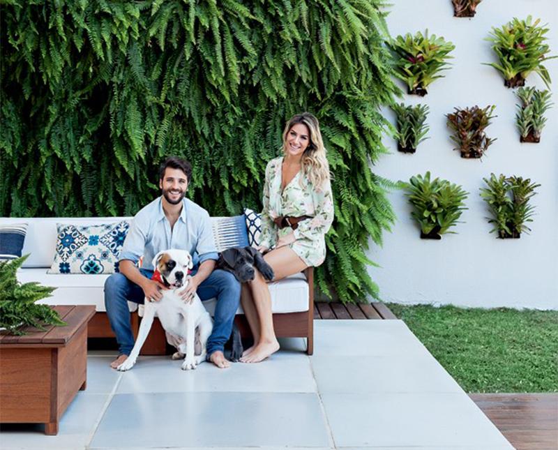 Em Casa: A casa de Gagliasso e Giovanna Ewbank