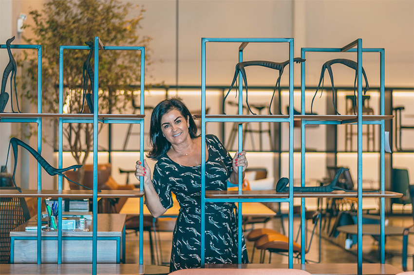 Conheça as escolhas incríveis da designer Cláudia Couto no Bota Fora do Shopping Casa & Design