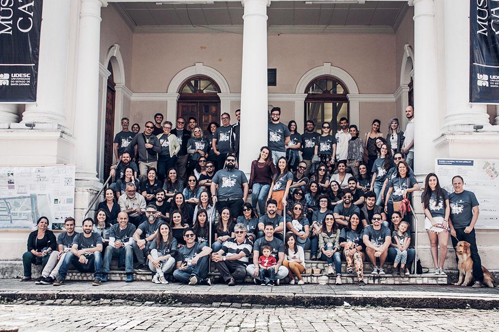 Florianópolis 345 anos: Movimento Traços Urbanos quer revitalizar espaços em áreas carentes e no Centro Histórico da Capital