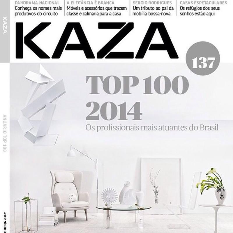 Revista Kaza lança anuário Top 100