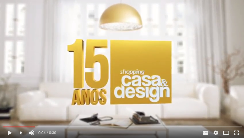 15 anos - Shopping Casa & Design